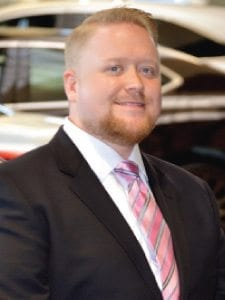 Joshua Gurney at Jay Wolfe Acura Sales Department