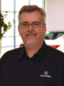 John Bradford at Jay Wolfe Acura Service Department