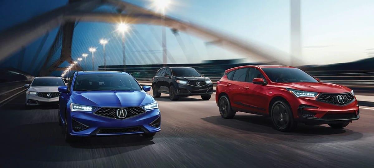 Acura Line-up