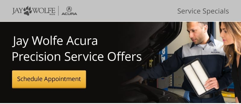 Jay Wolfe Acura Precision Service Offers