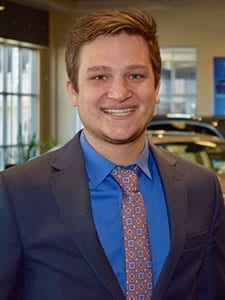 Blair Redmond at Jay Wolfe Acura Sales Department