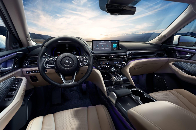 2022 Acura MDX Technology Interior Cabin